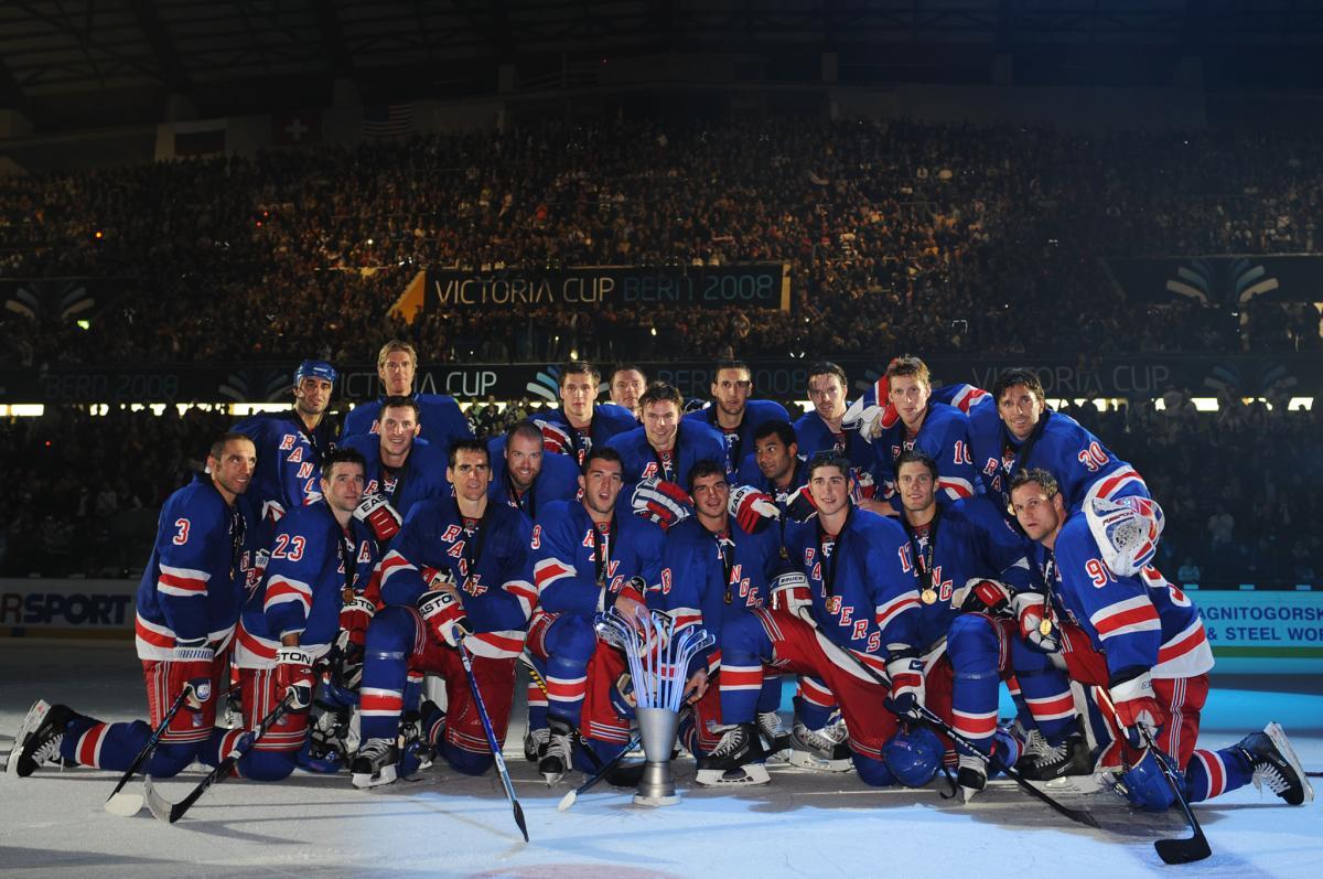 Die New York Rangers holen in Bern den ersten . Victoria Cup. (Foto: EQ Images)