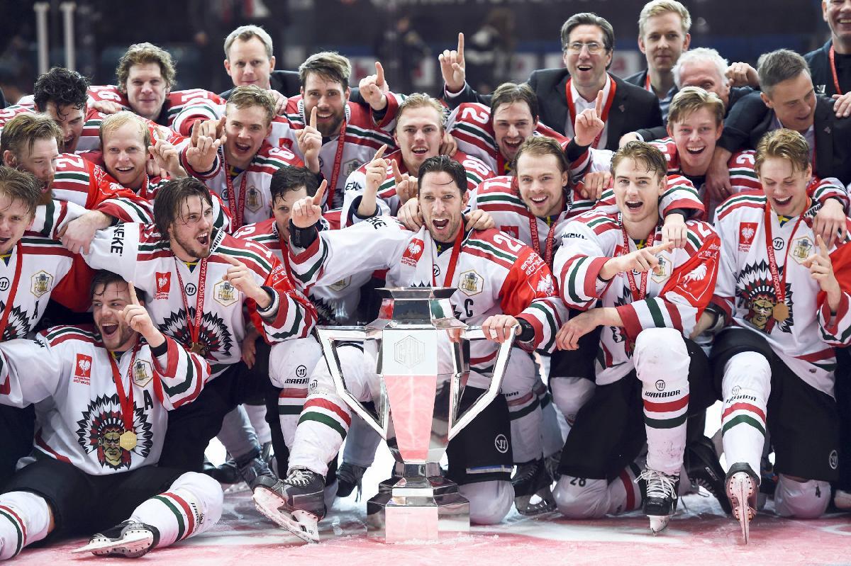 CHL-Sieger 2016: Erster europäischer Titel für die Frölunda Indians HC Göteborg. (Foto: Imago)