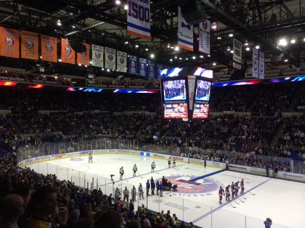 Das Nassau-Veterans-Memorial-Coliseum versprüht den Charme der NHL der 80er Jahre noch heute und ist Kult. (Foto: Krein)