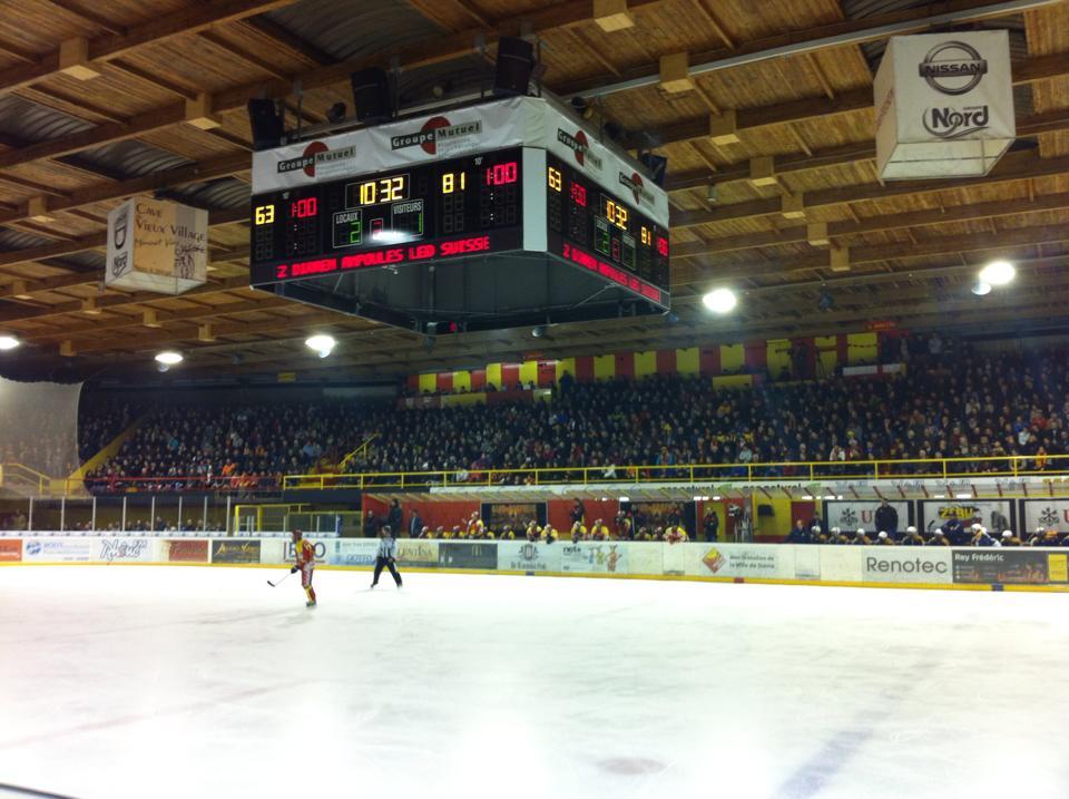 2'614 Zuschauer in der 2. Liga, davon träumen sogar einige NLB-Teams. (Foto: HC Sierre)