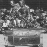 Der Omega-Pokal 1957, im nordamerikanischen Stil. (Foto: Chronik EHC Arosa)