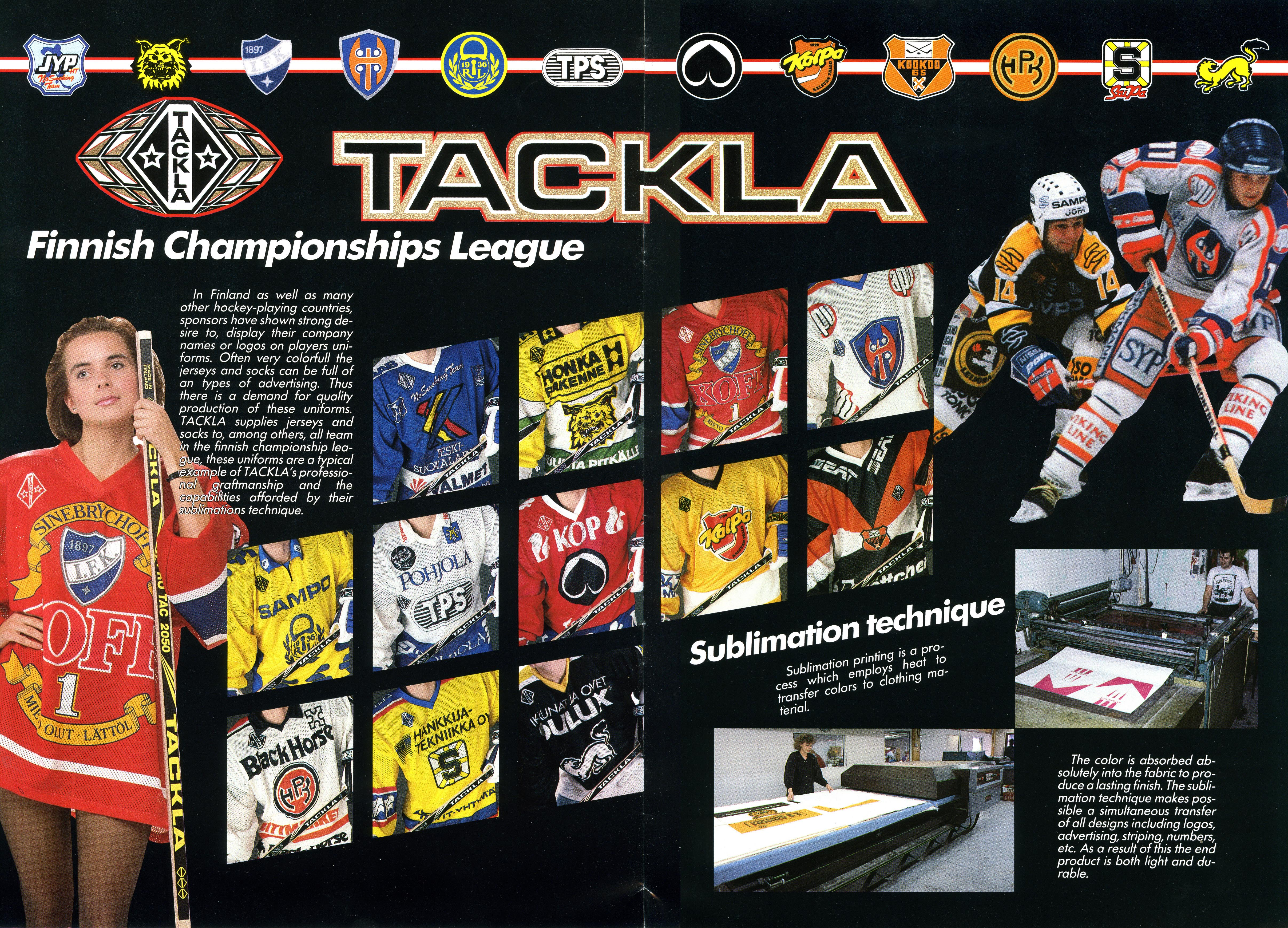 Tackla Catalogue 1988 (Bild: Rob Yasinsac)