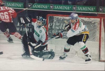 Manon Rhéaume in Feldkirch, 1995